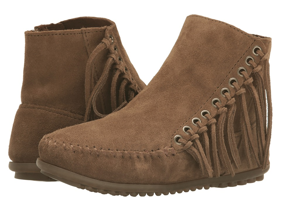 Minnetonka Willow Boot (Dusty Brown Suede) Women