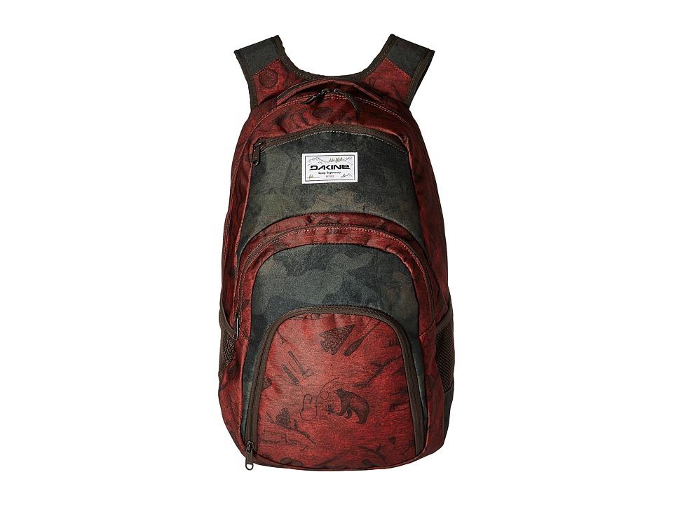 Dakine - Campus 33L Backpack (Northwoods) Backpack Bags
