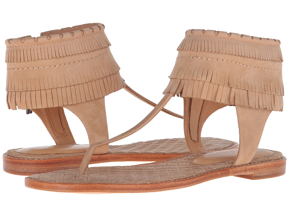 L.A.M.B. Otter Natural Womens Dress Sandals