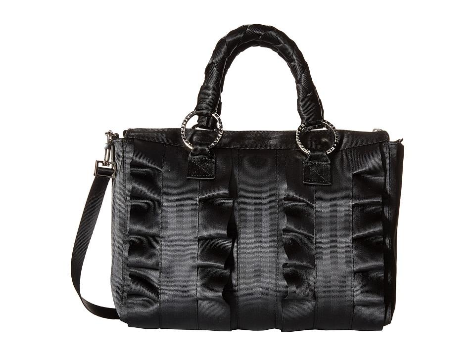 Harveys Seatbelt Bag Lola Satchel Salvage Black Black Satchel Handbags