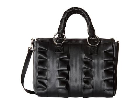 Harveys Seatbelt Bag Lola Satchel Salvage Black - Black