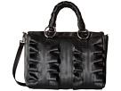 Harveys Seatbelt Bag Lola Satchel Salvage Black (Black)