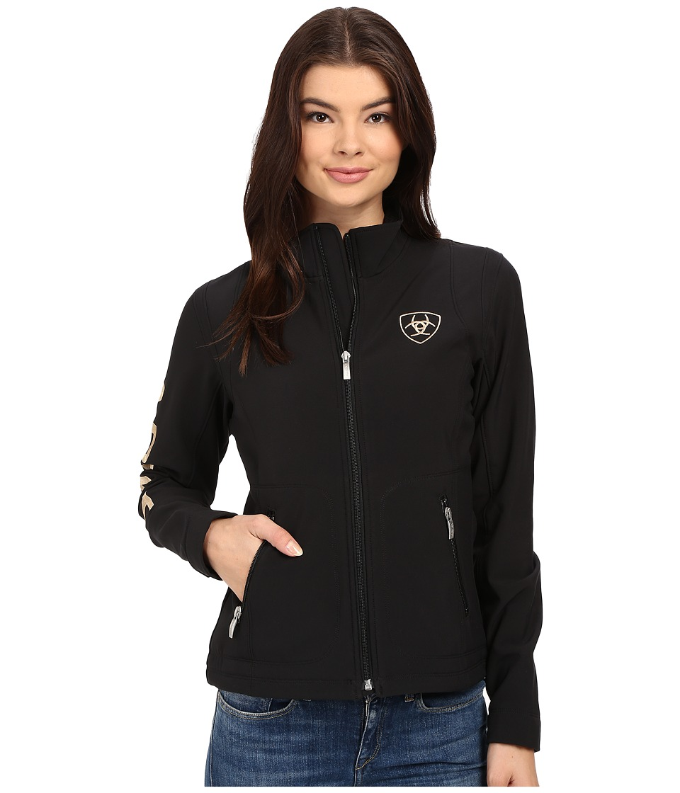Ariat - Team Softshell Jacket (Black) Women