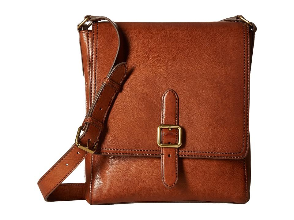 Frye - Claude Messenger (Whiskey Tumbled Full Grain) Messenger Bags