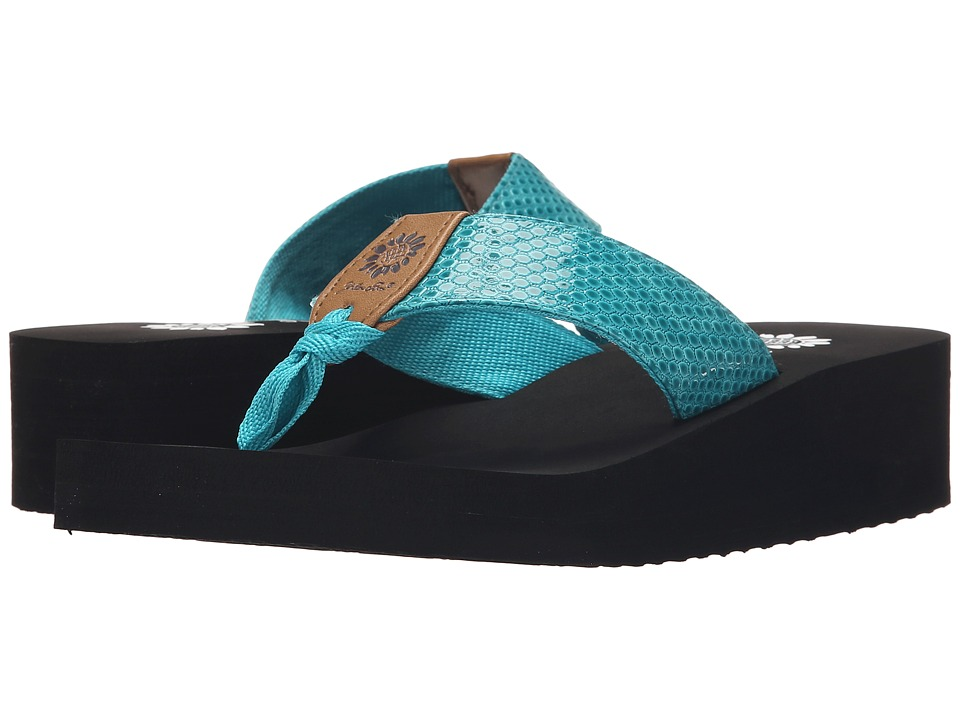 Yellow Box Allington Turquoise Womens Sandals
