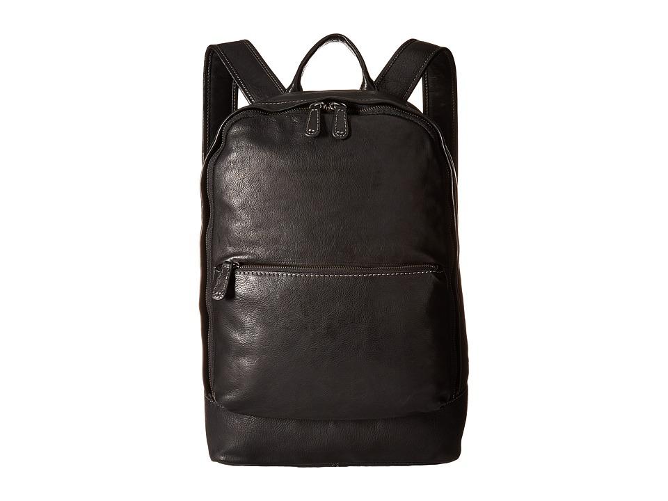 Frye - Chris Backpack (Black Full Grain) Backpack Bags
