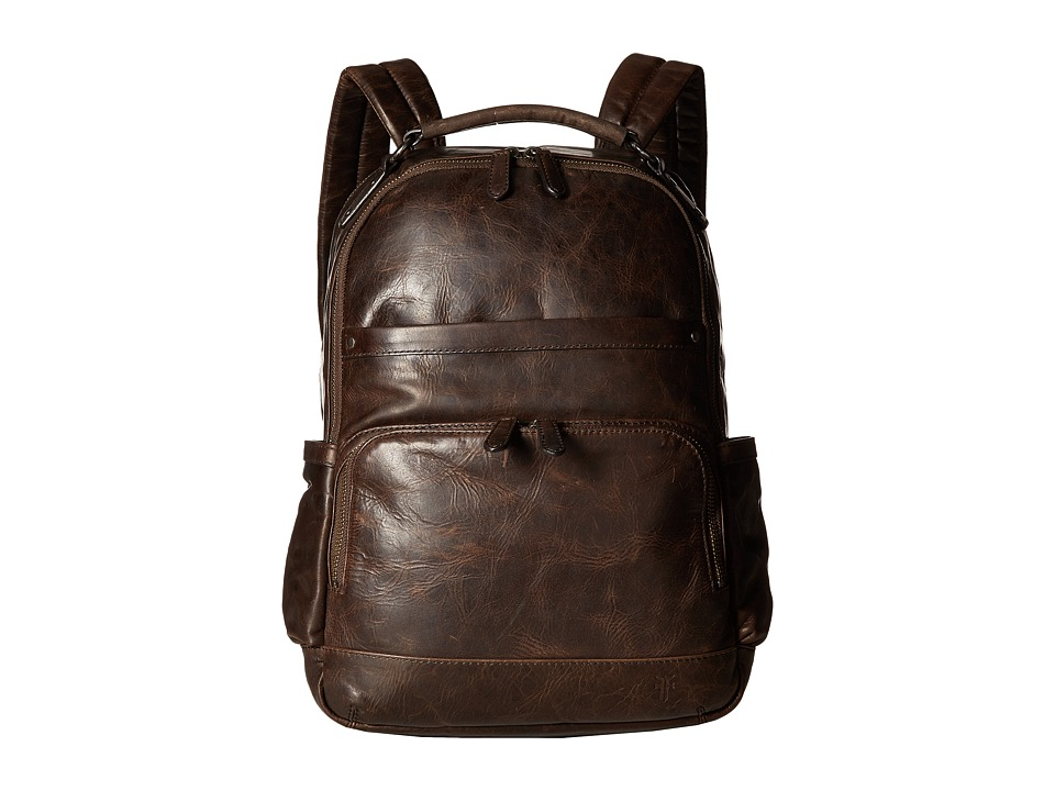 Frye - Logan Backpack (Slate) Backpack Bags