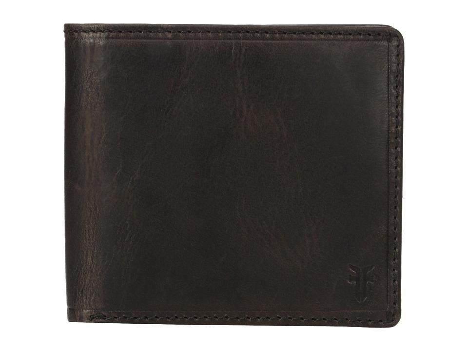 Frye - Logan Billfold (Slate Antique Pull Up) Wallet Handbags