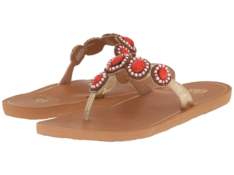 Yellow Box Cranberry Coral Womens Sandals
