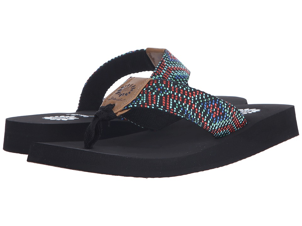 Yellow Box Emory Red Multi Womens Sandals