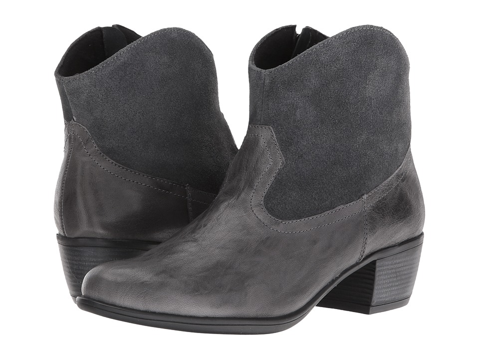 Munro Laramie (Grey Leather/Suede) Cowboy Boots
