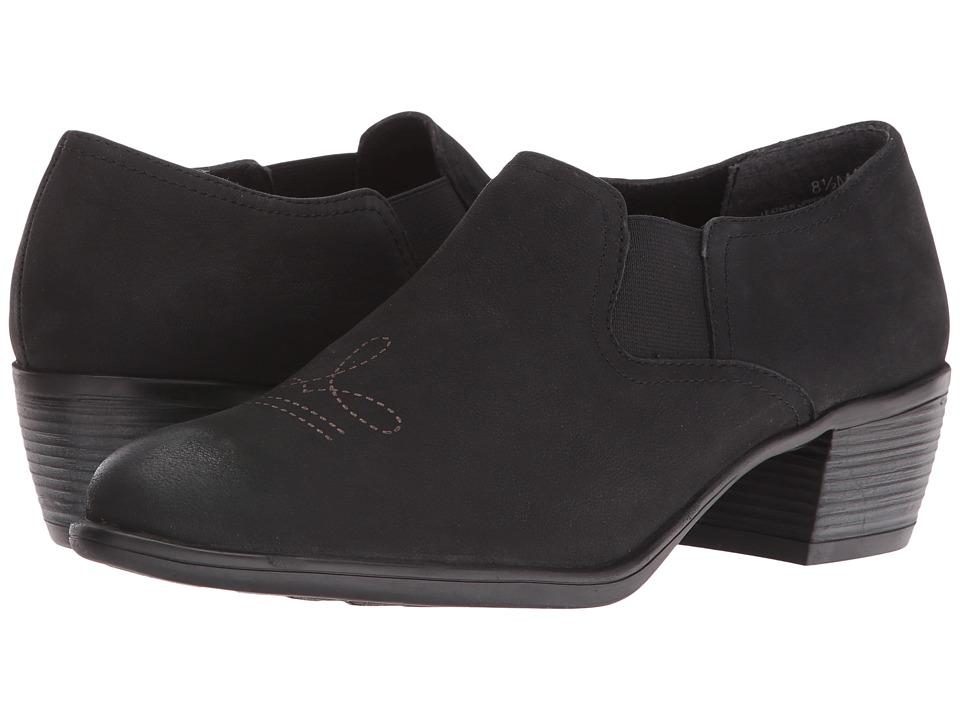 Munro Silverton (Black Distressed/Laser Etching) Cowboy Boots