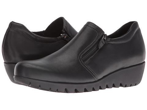 Munro Napoli - Black Leather
