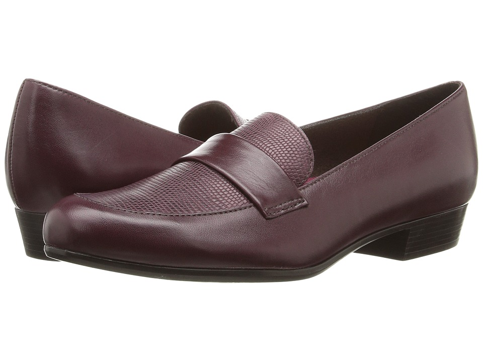 Munro Kiera (Wine Leather/Lizard) Women