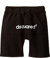 Dsquared2 Kids - Sweat Shorts w/ Front Pocket & Logo (Little Kids/Big Kids)