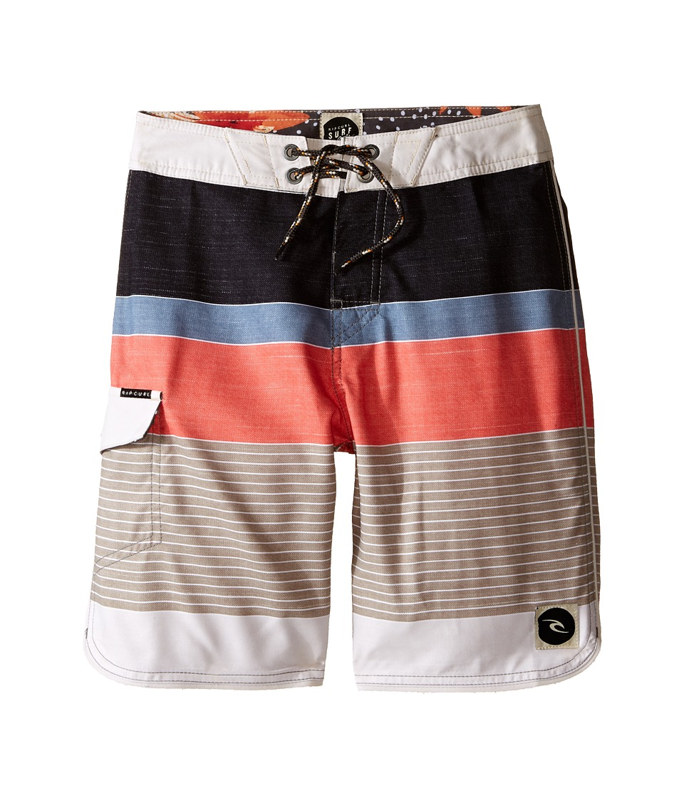 Rip Curl Kids All Time Boardshorts Big Kids Coral Boys Swimwear