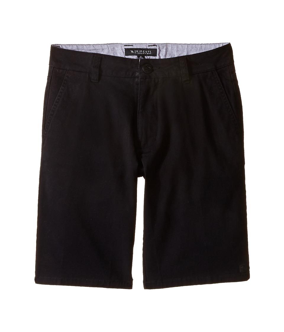 Rip Curl Kids Epic Stretch Chino Walkshorts Big Kids Black Boys Shorts