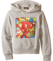 Dsquared2 Kids - Hoodie Sweater w/ Superhero Design (Big Kids)