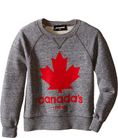 Dsquared2 Kids - Maple Leaf Sweatshirt (Little Kids/Big Kids)