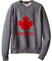Dsquared2 Kids - Maple Leaf Sweatshirt (Big Kids)