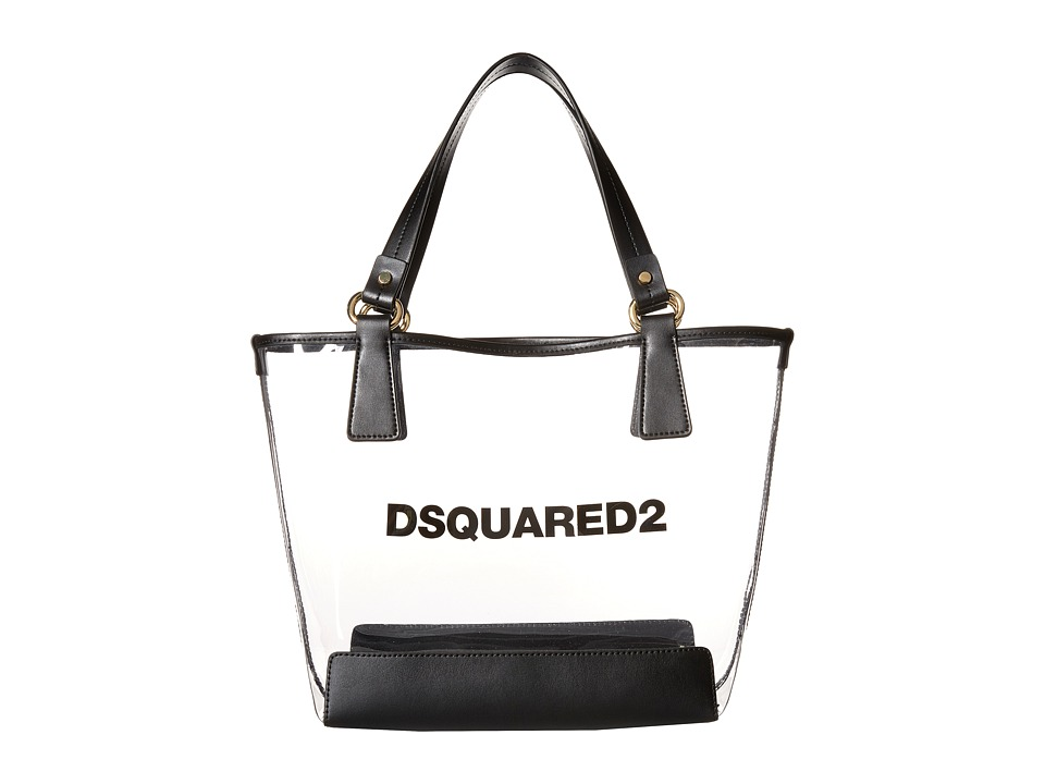 Dsquared2 Kids PVC Diaper Bag Clear Bags