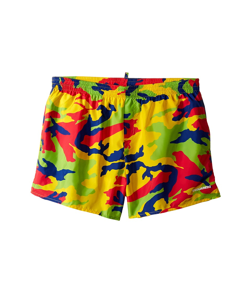 Dsquared2 Kids Camouflage Shorts Big Kids Multi Boys Swimwear