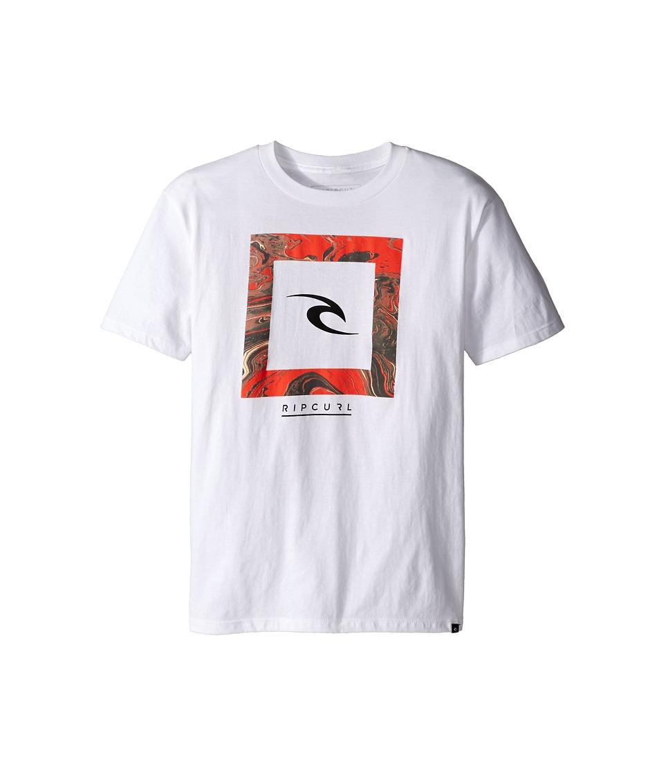 Rip Curl Kids Chuns Premium Tee Big Kids White Boys T Shirt