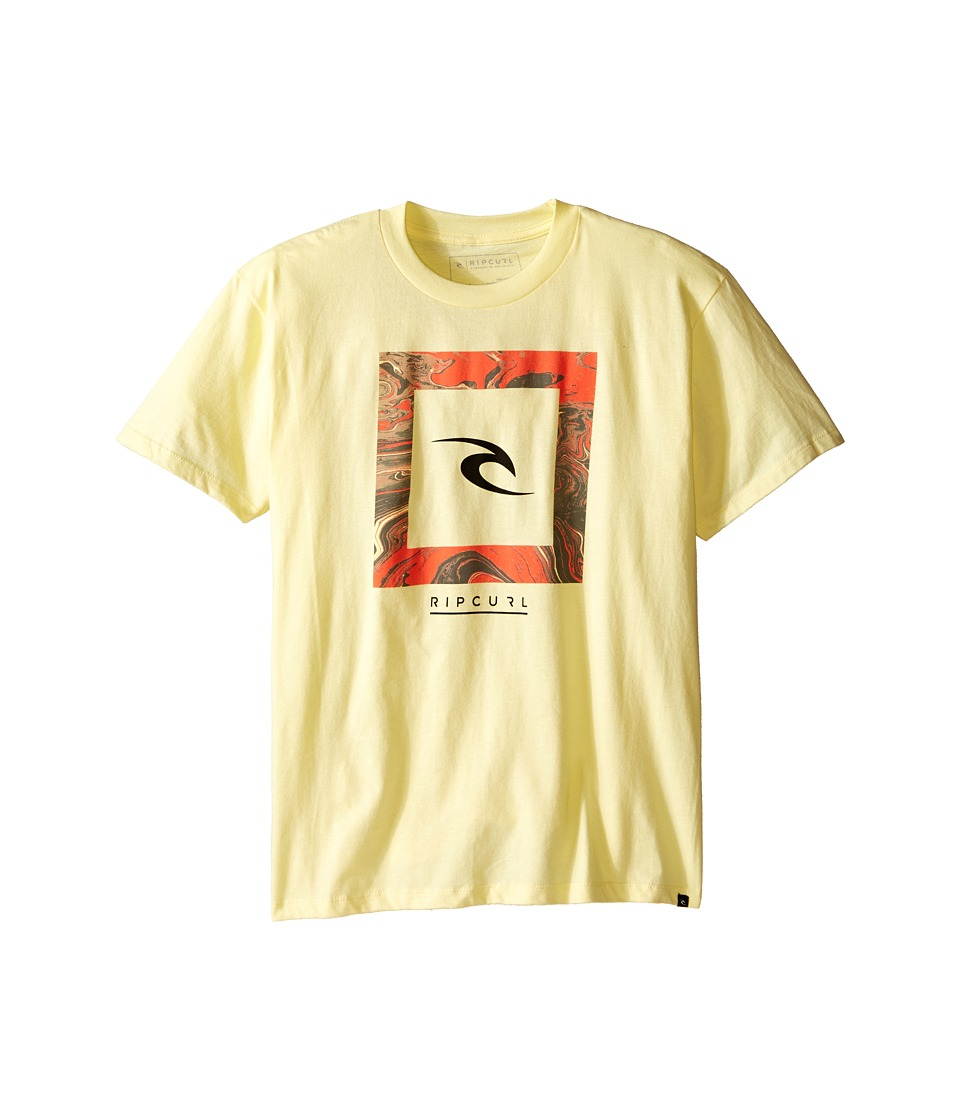 Rip Curl Kids Chuns Premium Tee Big Kids Yellow Boys T Shirt