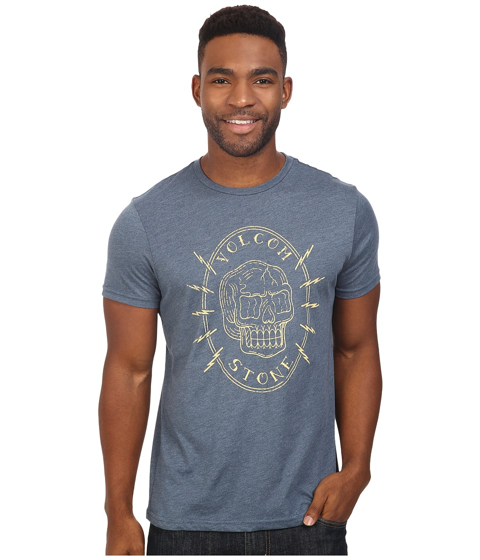 Volcom - Cycle Short Sleeve Tee (Air Force Blue Heather) Men
