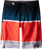 Rip Curl Kids - Mirage Aggrogame Boardshorts (Big Kids)