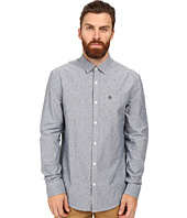 Original Penguin - Long Sleeve Oxford with 3D Glasses Print