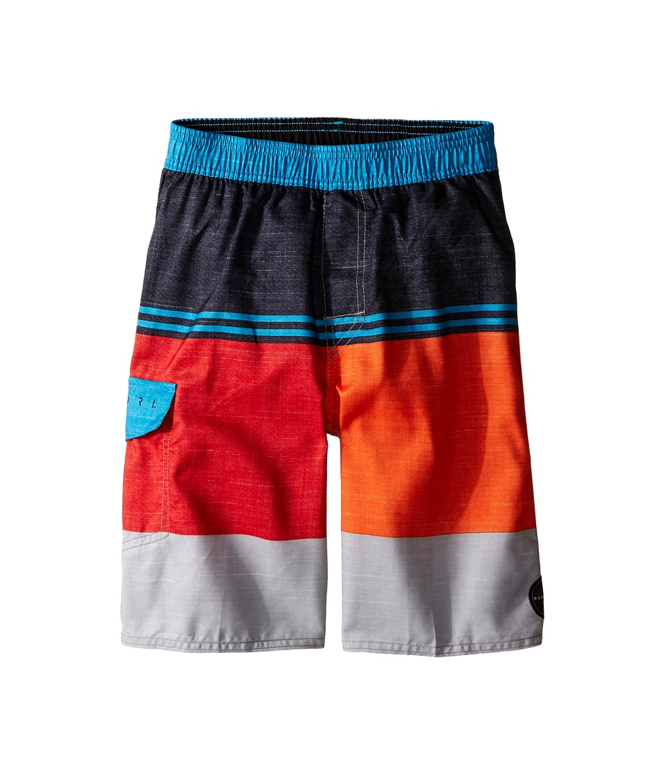 Rip Curl Kids Sections Volley Boardshorts (Big Kids) (Red) Boy