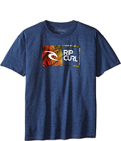 Rip Curl Kids - Ripawatu Palms Heather Tee (Big Kids)