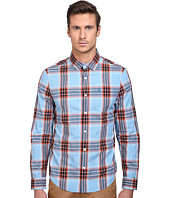 Original Penguin - Long Sleeve Space Dye Plaid