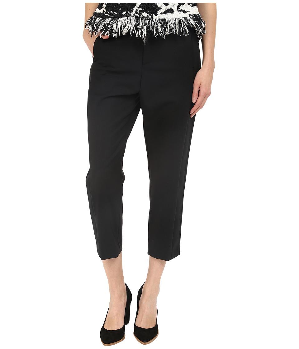 Neil Barrett Slouch Oversize Tuxedo Trousers Black Womens Casual Pants