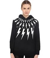 Neil Barrett - Thunderbolt Printed Hoodie Sweatshirt