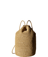 Hat Attack - Straw Drawstring Backpack