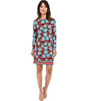 MICHAEL Michael Kors - Mckenna Boat Neck Border Dress