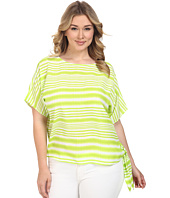 MICHAEL Michael Kors - Plus Size Boca Tie Top