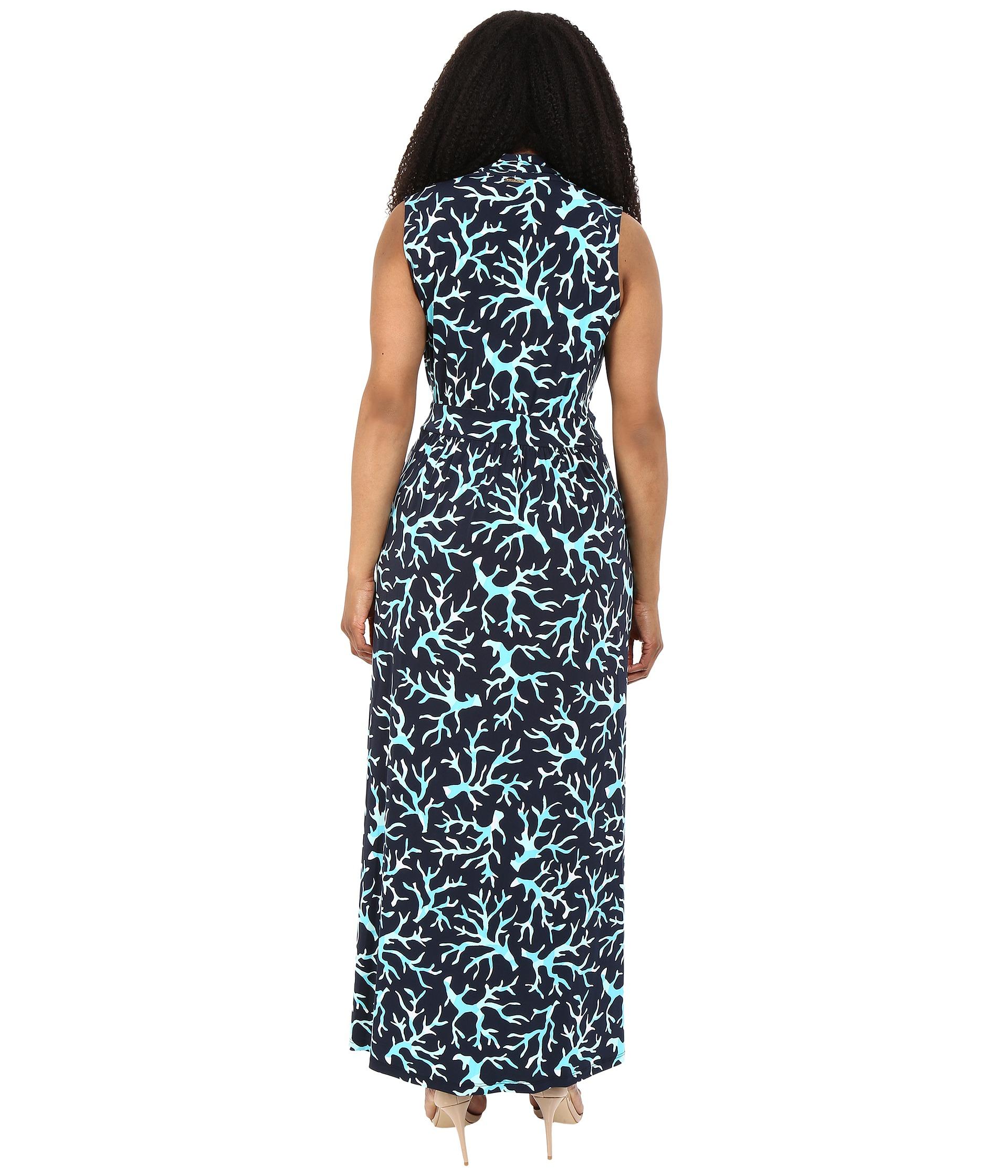 MICHAEL Michael Kors Plus Size Nandina Slit Maxi Dress New