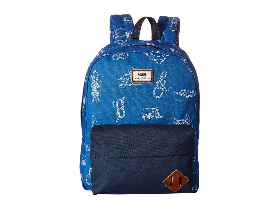 Vans - Old Skool II Backpack (Shackle) Backpack Bags