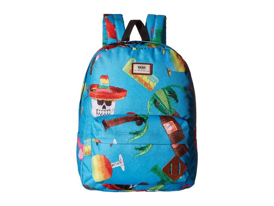 Vans - Old Skool II Backpack (El Guapo) Backpack Bags