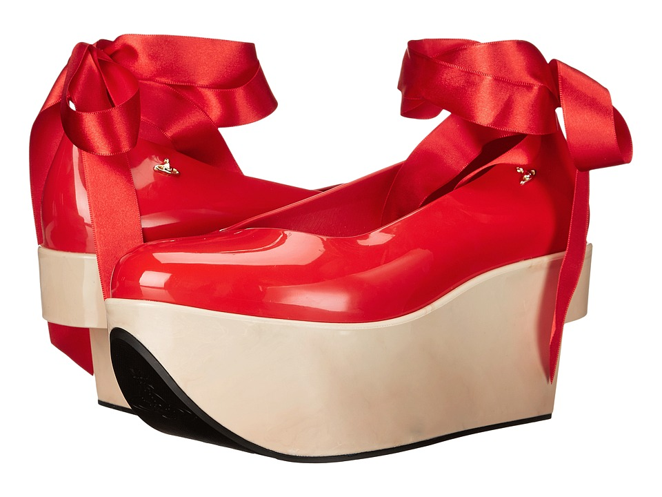 Vivienne Westwood Anglomania + Melissa Rocking Horse (Red) Women