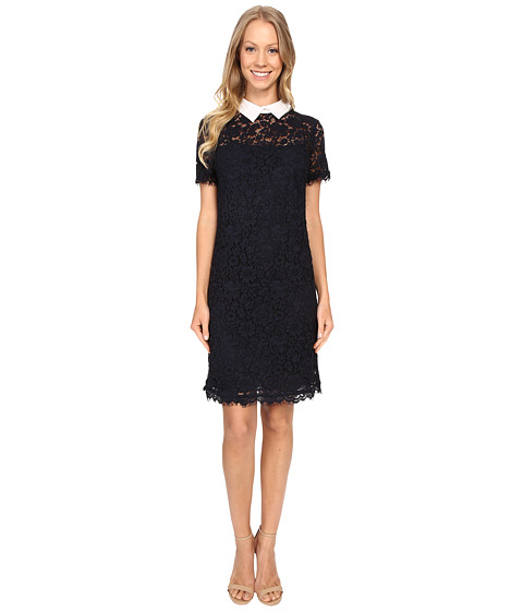 MICHAEL Michael Kors Collar Lace T-Shirt Dress