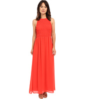 MICHAEL Michael Kors - Smock Halter Maxi Dress