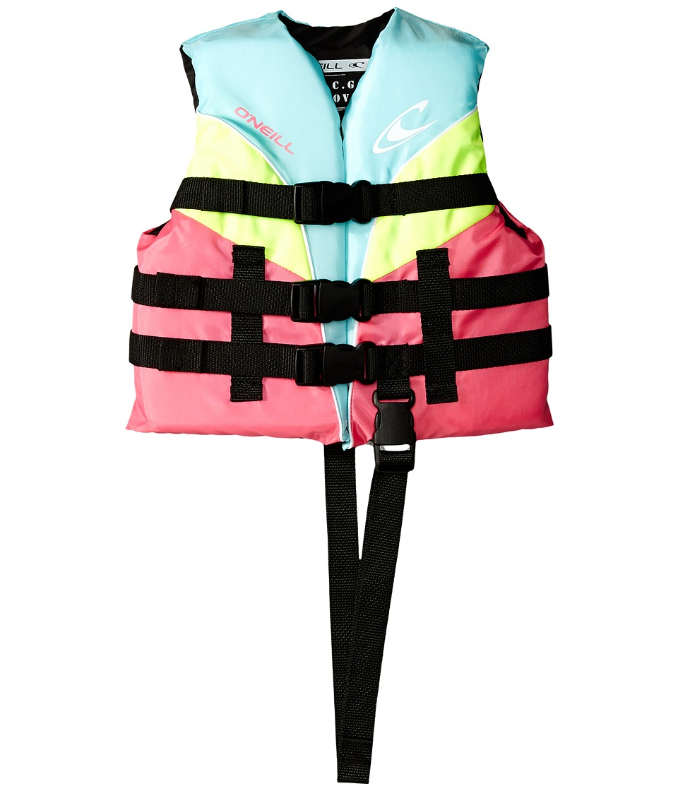 O'Neill Kids - Child Superlite USCG Vest (Turquoise/Berry...