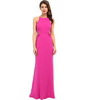 Badgley Mischka - Cut Out Stretch Crepe Gown