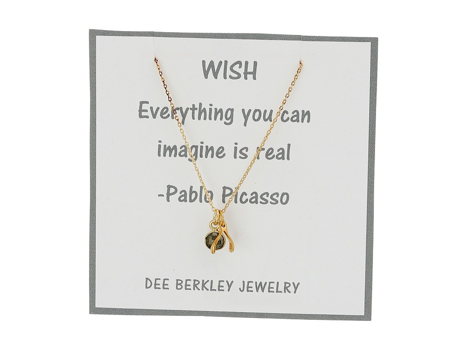 Dee Berkley Making Wishes Necklace Gold Necklace