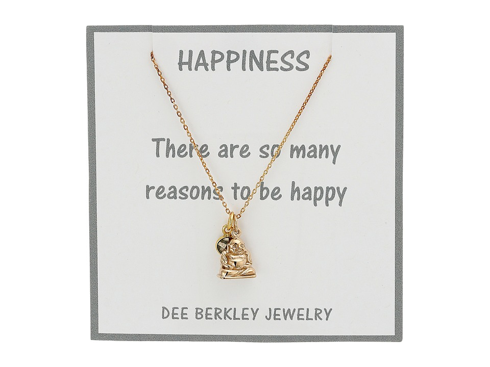 Dee Berkley Blissful Mind Necklace Gold Necklace