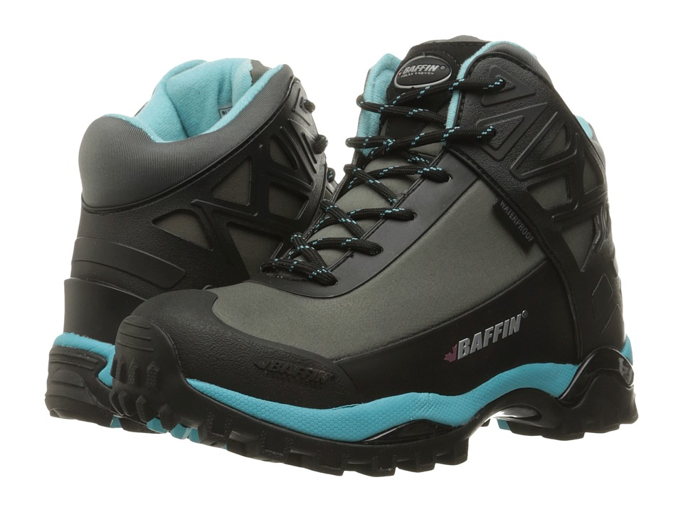 Baffin Blizzard (Grey/Teal) Women's Shoes